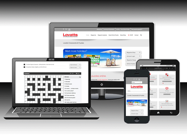 Lovatts Media Group - Responsive Web Design