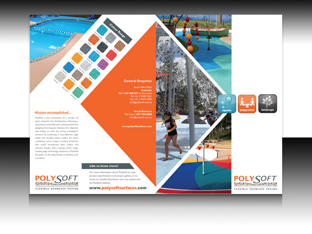 A4 Brochure design by ARK DIGITAL - PolySoft