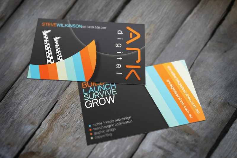 Business Card Design by ARK Digital